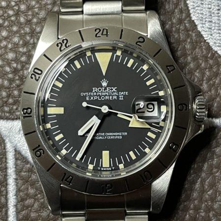 Rolex Explorer II 1655 matte dial MK2 frog foot