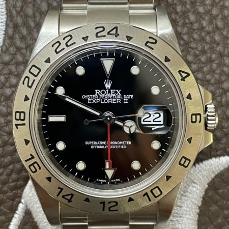 Rolex 16570 Explorer II P Serial from 2000