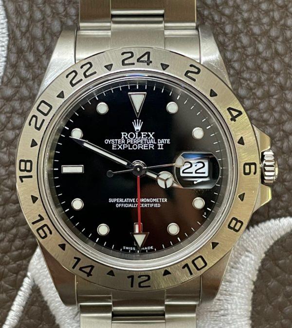 Rolex 16570 Explorer II P Serial from 2000