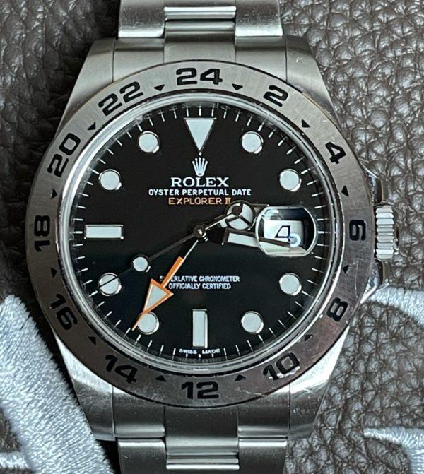 """216570 Rolex Explorer II """"freccione"""" 42mm"""
