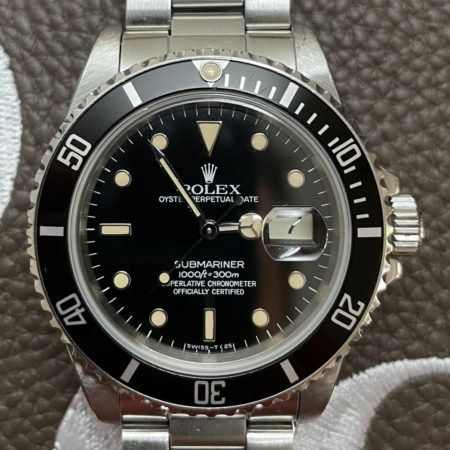 1984 Rolex Submariner 16800 Unpolished Case & Gorgeous Patina