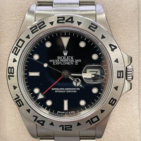 1986 Rolex Explorer II 16550 Long 1's Bezel *RARE*
